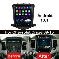Car Android 10.1 DVD Radio GPS Navi Stereo Player Wifi For Chevrolet Cruze 09-15