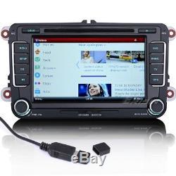 Car DVD For VW PASSAT TOURAN GOLF MK5 6 T5 EOS GPS Stereo SatNavi CAM OBD 7698GB