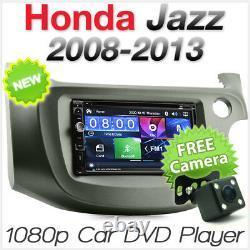 Car DVD MP3 Player Honda Jazz Fit 2011 2012 2013 2014 Stereo Radio Head Unit CD