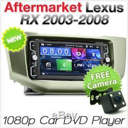 Car DVD MP3 Player Radio Stereo Lexus RX 300 330 350 XU30 Head Unit MP4 USB CD G