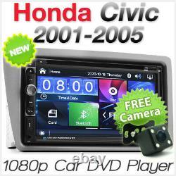 Car DVD MP3 Player Stereo Radio CD For Honda Civic EP3 EP4 Fascia Kit Hatch KT