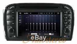 Car DVD Player Android 9.0 Headunit for Mercedes Benz SL R 230 SL 500 2001-2007
