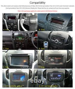 Car DVD Player For Isuzu D-Max MU-X Radio USB MP3 CD Stereo Fascia Facia Kit 2G