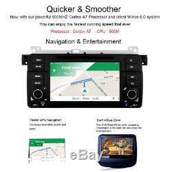 Car DVD Player GPS Sat Nav Head Unit RDS BT 3G iPod BMW E46 320 325 M3 Stereo UK