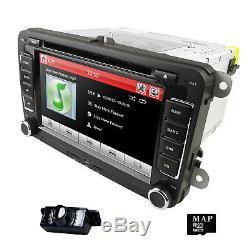 Car DVD Player Radio GPS Sat Nav Stereo Camera For VW Golf MK5 MK6 Jetta