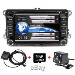 Car DVD Player Radio GPS Sat Nav Stereo Camera for VW Passat Golf Transporter T5