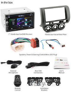 Car DVD Player USB Head Unit Radio For Honda Jazz 2002-2007 Fascia Kit Stereo 2G