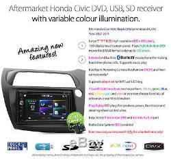 Car DVD Player USB MP3 For Honda Civic Hatchback FK FN Stereo Radio Fascia Kit E
