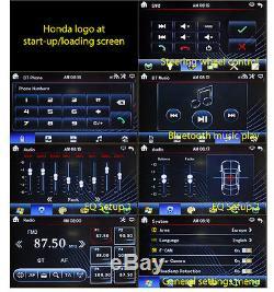 Car DVD Player USB MP3 For Honda Civic Hatchback FK FN Stereo Radio Fascia Kit G