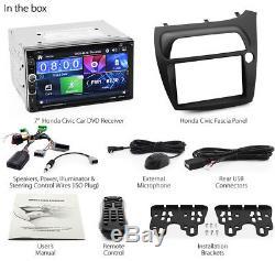 Car DVD Player USB MP3 For Honda Civic Hatchback FK FN Stereo Radio Fascia Kit K