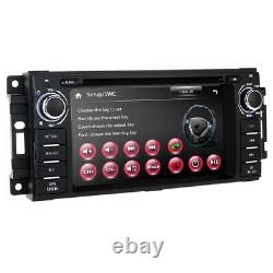 Car DVD Stereo PLAYER DVR Radio FOR JEEP Wrangler Cherokee Chrysler GPS Navi DAB
