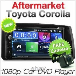 Car DVD USB Player Radio For Toyota Corolla 2002-2008 E120 E130 Stereo MP3 CD 2G