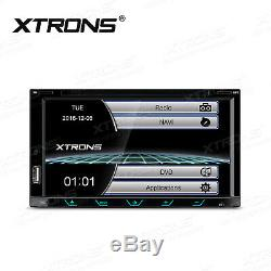 Car GPS Sat Nav Radio Stereo DVD Player Double DIN Bluetooth Head Unit USB SD