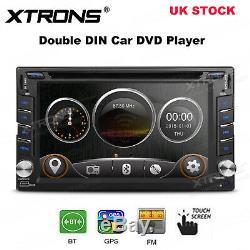 Car GPS Sat Nav Radio Stereo DVD Player Double DIN Bluetooth Head Unit USB SD FM