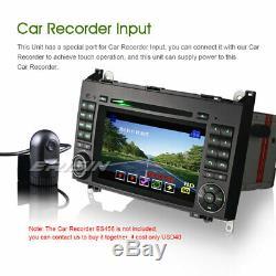 Car GPS Stereo DVD CD for Mercedes Benz A/B Class W169 W245 Sprinter Vito Viano