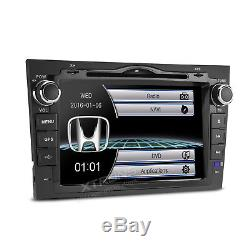 Car GPS Stereo Head Unit CD DVD Player Bluetooth Sat Nav RDS Radio for Honda CRV