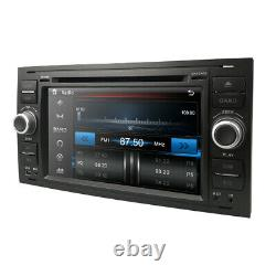 Car Radio DVD Player GPS Sat-Nav Bluetooth USB Stereo for Ford Fiesta Mk6 ST150