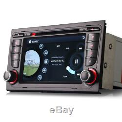 Car Radio Stereo DVD Player GPS Sat-Nav Bluetooth USB For Audi A4 S4 & RS4 B6 B7