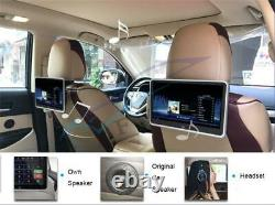 Car SUV 10.1 LCD HD 1080P Ultra-thin Headrest Monitor MP5 Player Mirror Link FM