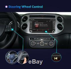 Car Stereo Android 10 GPS Navigation MP5 Radio DVD For VW Golf SKODA Touran EOS