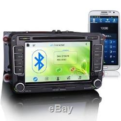 Car Stereo DVD CD 3G GPS VW Passat Golf 5/6 Jetta Seat Altea Touran Tiguan Caddy