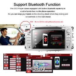Car Stereo GPS Sat Nav 3G BT DVD For FORD FOCUS C/S-MAX MONDEO GALAXY UK