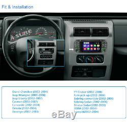 Car stereo DVD GPS sat nav for Jeep Grand Cherokee Liberty Wrangler Caravan BT