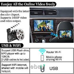 Carpaly Car Stereo 9 2+32GB Android 10 WIFI GPS Double 2DIN For VW T5 CC Camera