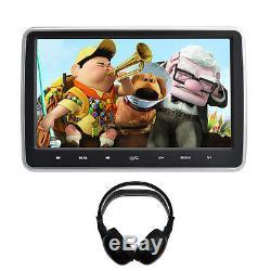 Clip-On Plug-and-Play Car HD Headrest DVD Player/Screen USB/SD/HDMI Audi Q7/Q5