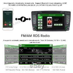 DAB+ Car GPS sat nav DVD Player Stereo SWC BT Radio For SKODA OCTAVIA Yeti Fabia