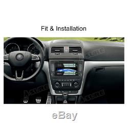 DAB+ Car GPS sat nav Navigation DVD Player Stereo For SKODA OCTAVIA Yeti Fabia
