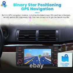 DAB+ Car Radio Stereo Sat Nav GPS DVD Player For BMW 3 Series E46 Rover 75 M3