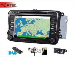 DAB VW Transporter T5 Jetta Passat Golf MK5 Car Stereo CD/DVD Player GPS SatNav