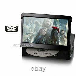 Desmontable Single 1 Din GPS Navegación Reproductores Car Stereo DAB+ SD DVD/CD