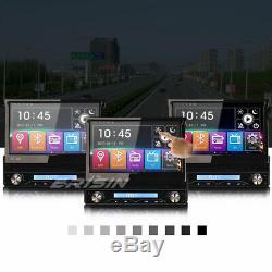 Detachable 1DIN Sat Nav Bluetooth USB SD DVB-T DAB+7 Car Stereo DVD Player GPS