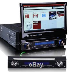 Detachable 1 din car dvd player bluetooth cd gps sat nav 3G DVR DVB-T/IN 1088MGB