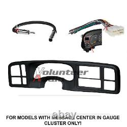 Double Din DVD CD Player Car Radio Install Mount Kit Harness