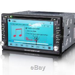 Double din car gps dvd player sat nav 800MHz CPU Dual Core 3G DVR DTV-IN 7610MGB
