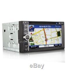 ERISIN 6.2Autoradio 2 Din HD Car CD DVD Player 3G GPS Navigation IPOD TV 890TDE