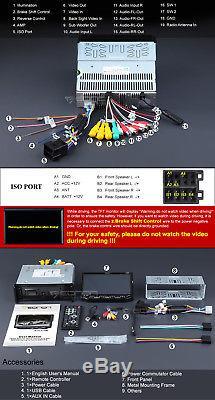 Eonon 7 Single 1 Din Car Dash Stereo DVD Player Radio Bluetooth Touch Screen W