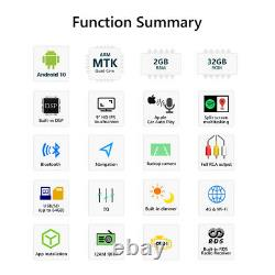 Eonon 9 In Dash Car Radio GPS Sat Nav Stereo For BMW E46 Android 10 Quad Core