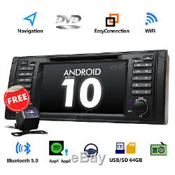 Eonon Android 4-Core for BMW E39 M5 7 Car Radio Stereo DVD Player GPS Sat-Nav W