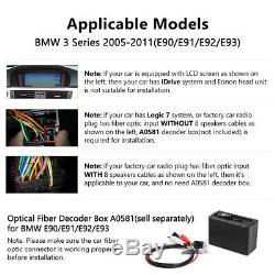 Eonon Octa-Core Android 8.0 Car DVD Player Stereo GPS DAB+ BMW E90 E91 E92 E93 E