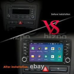 Fit Audi A3 2003-2012 Android Car Radio Stereo CD DVD Player GPS Nav Wifi CANBUS