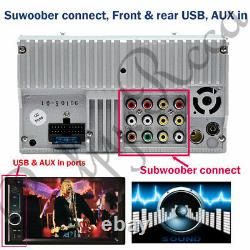 Fit Audi A3 A1 6.2Double 2 Din Car DVD Player Radio Stereo USB Bluetooth UK
