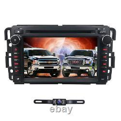 Fit GMC Sierra 1500 2500HD 3500HD Car Radio DVD Player GPS Stereo+Map+Cam US