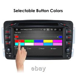Fit Mercedes-Benz W203 Android 9.0 RDS Radio CD DVD Player GPS Car Stereo Wifi