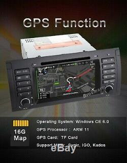 Fits BMW E39 X5 E53 M5 E38 7 Car DVD SatNav GPS Stereo Headunit SWC CANBUS DAB+