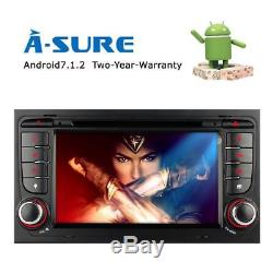 For AUDI A4 S4 RS4 Stereo 2 DIN In Car DVD Player GPS Sat-Nav DAB+ Radio USB 2GB