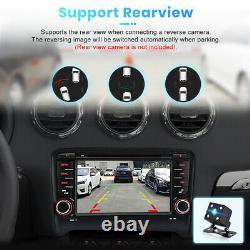 For AUDI TT MK2 8J 2006-2012 72Din Car Stereo Radio GPS Sat Nav DVD Player DAB+